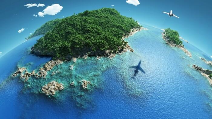 В Тихом океане на островах есть несколько стран, которым жизненно важна связь с материком, поэтому несмотря на все существующие риски, самолеты все же летают / Фото: wallhere.com