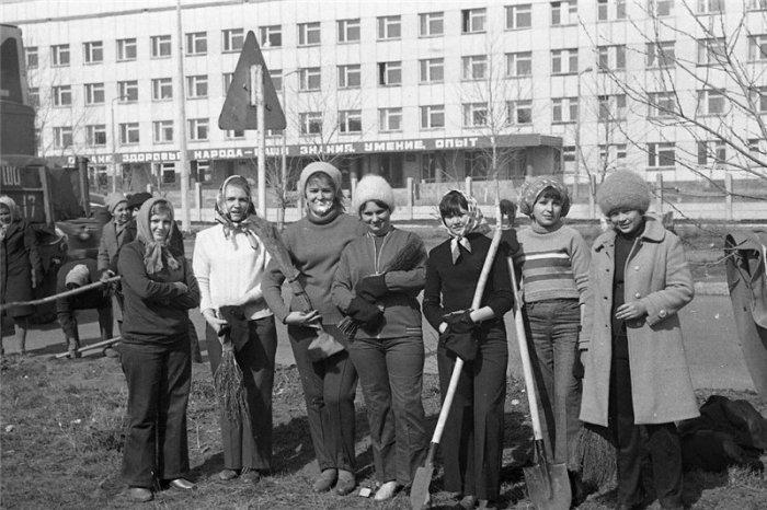 Советский субботник / Фото: ng.kz