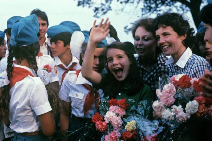Советские школьники в Артеке / Фото: pinterest.de