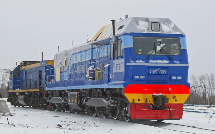 Современные тепловозы не работают на печной системе отопления / Фото: trainpix.org
