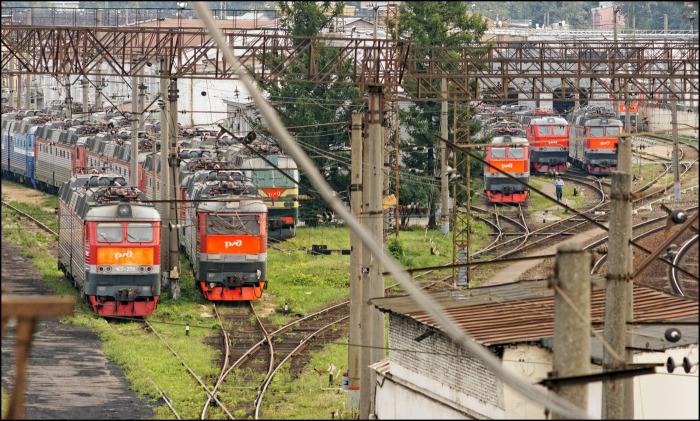 Если проводник заболел в пути, тепловоз отцепляют от общего состава и помещают в тупик / Фото: photosight.ru
