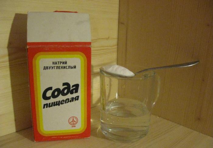 Не менее эффективна простая пищевая сода / Фото: zsz.pp.ua