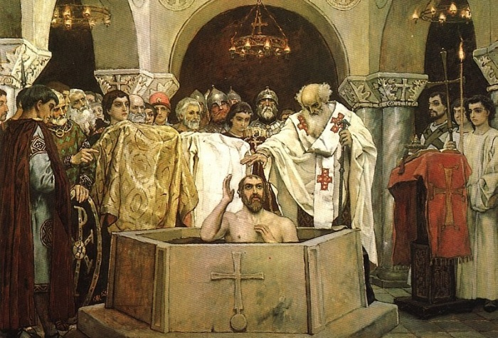 Владимир, князь киевский, в 988 г. принял христианство / Фото: Twitter
