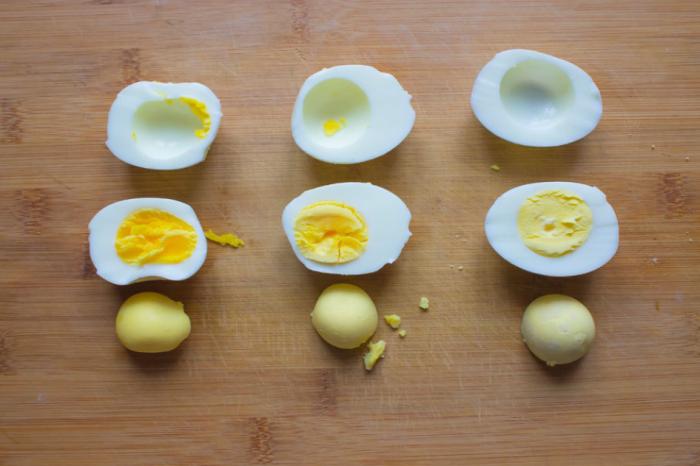 Для выделения сероводорода термообработка (варка) яиц должна осуществляться в течение определенного промежутка времени / Фото: gotovim-po.ru