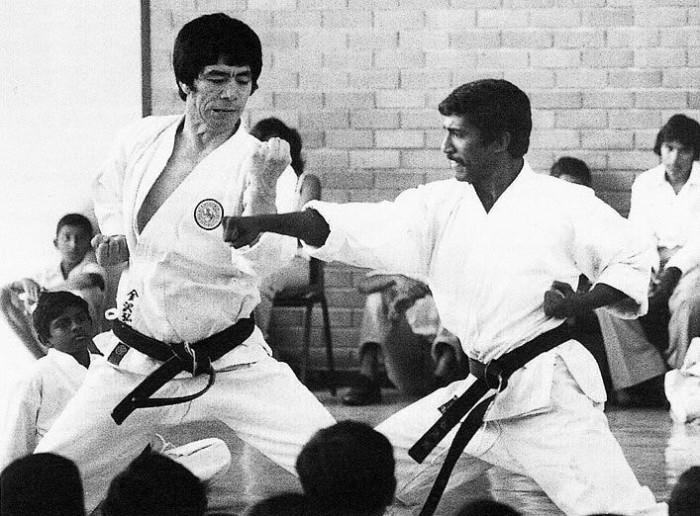 В СССР карате обучали подпольно / Фото: pinterest.ru