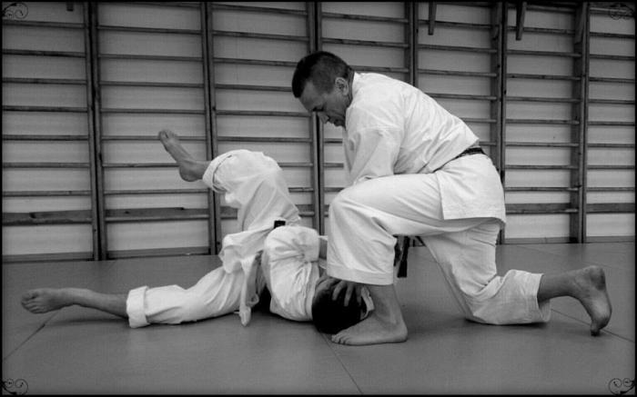Прием в карате / Фото: karate.ru
