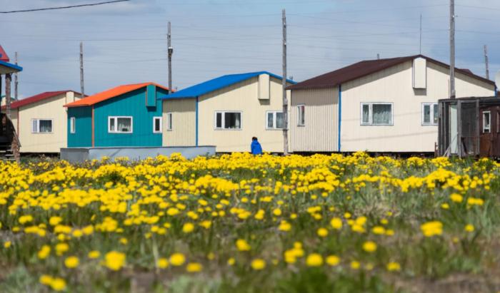 Каждой семье в Майне предоставили собственный дом / Фото: yandex.ru