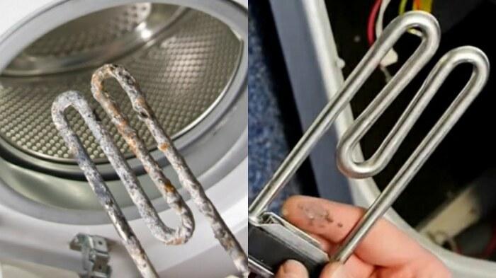 Добавленный в стиральную машину уксус хорошо устраняет грязевые отложения и известковый налет / Фото: youtube.com