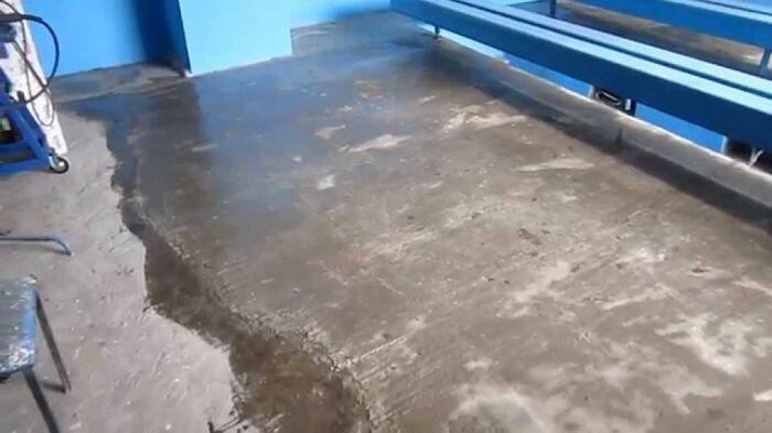 Такой способ железнения подходит и для старого бетона / Фото: pol-exp.com