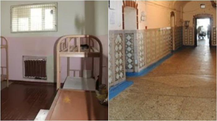 Кирпичи, из которых возводились стены тюрьмы, проходили специальное испытание на прочность / Фото: znak.com