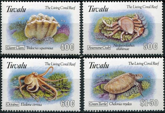Почтовые марки Тувалу вызывают большой интерес у филателистов / Фото: all4coins.ru
