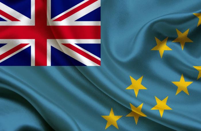 Государственный флаг Тувалу включает флаг Великобритании / Фото: news.day.az