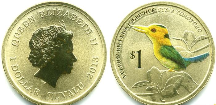 В стране национальной валютой является доллар Тувалу, который приравнивается к австралийскому / Фото: coins-spb.ru