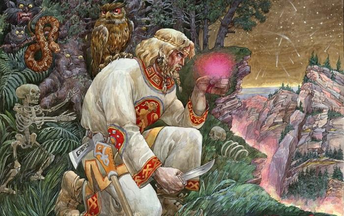 Цветок папоротника - легендарное растение, вокруг которого много мистики и даже некоторого волшебства / Фото: via-midgard.com