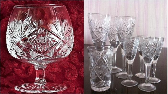 Независимо от места и времени изготовления хрустальных изделий, рисунок на них будет схожим / Фото: pictame.com