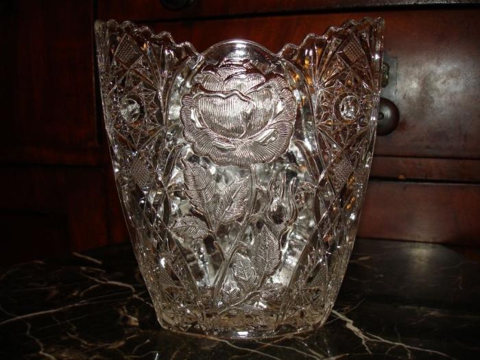 Хрустальная ваза / Фото: coberu.ru