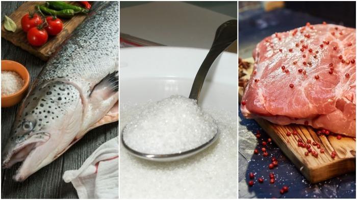 Дело в том, что кроме соли нужно добавить еще и сахар (не более чайной ложки) / Фото: vesit-skolko.ru
