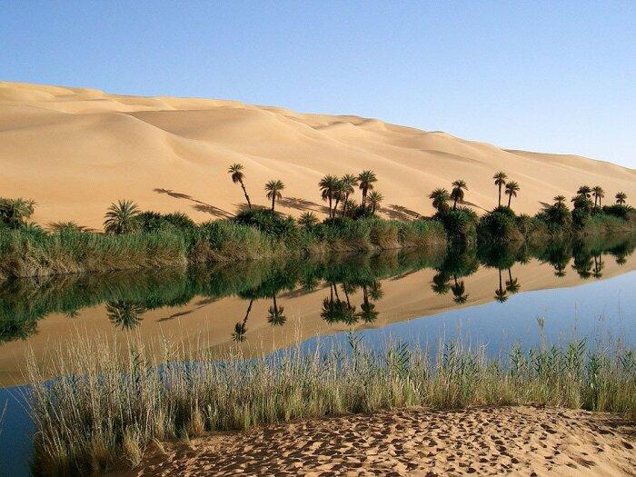 Учеными было проведено множество исследований по поводу того, почему огромная цветущая территория стала пустыней / Фото: bugaga.ru