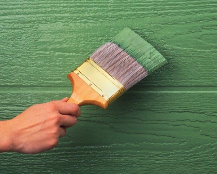 При использовании такой краски грунтовать поверхность не нужно / Фото: pinterest.ru