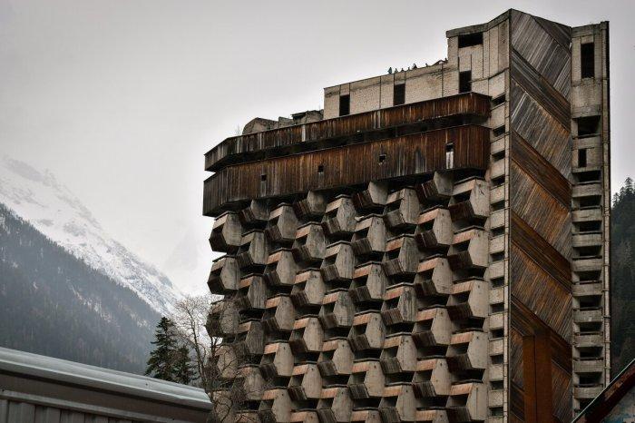 Необычайно красивая для тех времен архитектура здания поражает воображение / Фото: yandex.ua