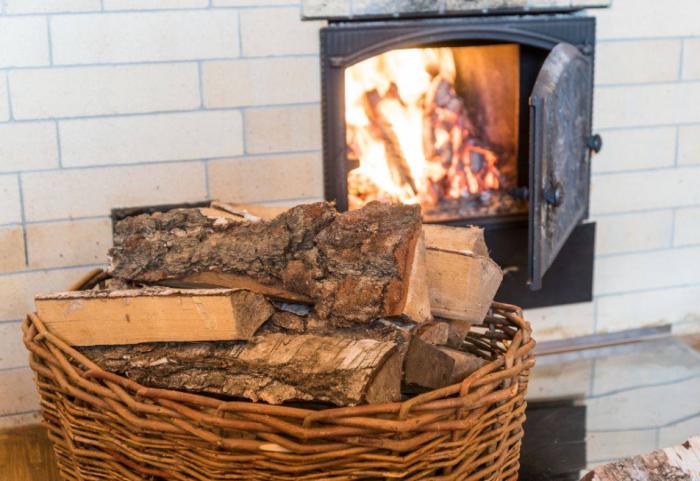 При наличии качественных дров никто из соседей не поймет, когда вы топите свою печь / Фото: 1-teplodom.ru