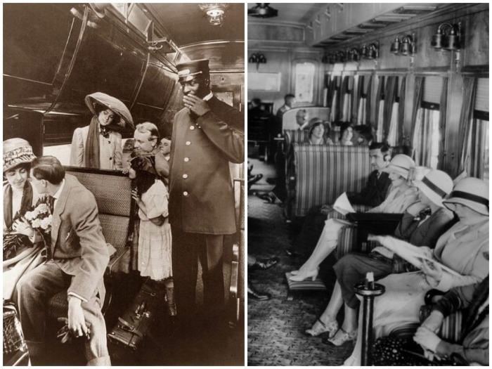 Во времена Чехова некоторые пассажиры не покупали билеты, но рассчитывались на месте с кондуктором / Фото: Pinterest