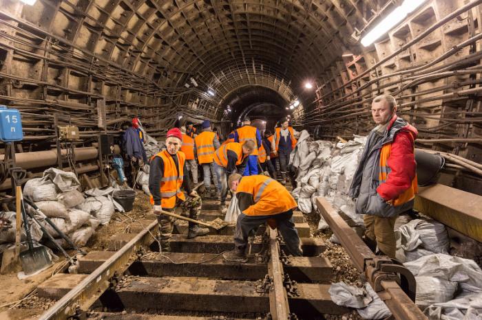 Принцип укладки железнодорожных путей в России остается неизменным / Фото: russos.livejournal.com