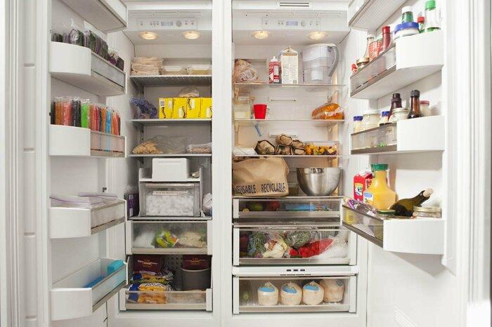 Благодаря такому простому способу необходимости мыть и проветривать холодильник не возникнет / Фото: shnyagi.net