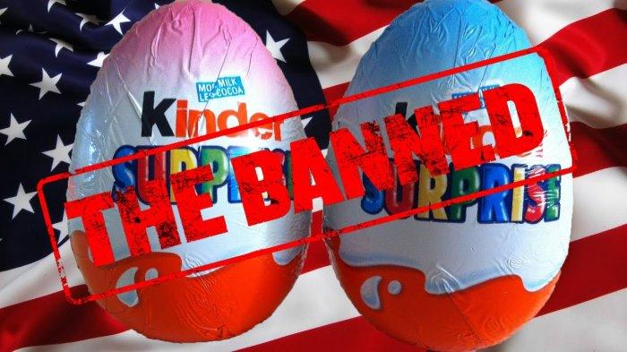 Шоколадные яйца запретили в США из-за риска задохнуться / Фото: hopop.ru<br>