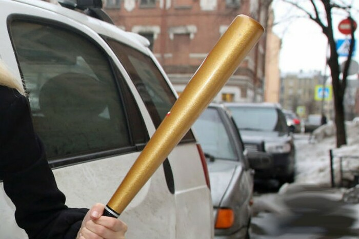 Биту без каких-либо рисков можно оставить в салоне машины / Фото: drivenn.ru