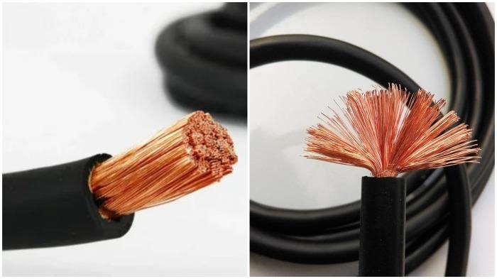 Необходимо взять отрезок многожильного гибкого провода и оголенные проволочки загнуть книзу, распределив их равномерно / Фото: russian.alibaba.com