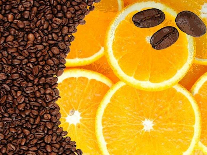 Для приготовления суперсредства понадобятся кофейные зерна и апельсин / Фото: fedsp.com