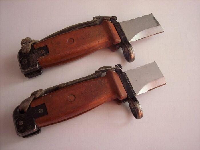 Каждый солдат расскажет историю из своей практики или же о сослуживцах, у которых штык-нож сломался / Фото: guns.allzip.org