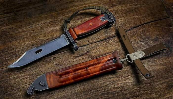 Существует теория, что точить штык-ножи специально запрещают, но правда ли это / Фото: forum.guns.ru