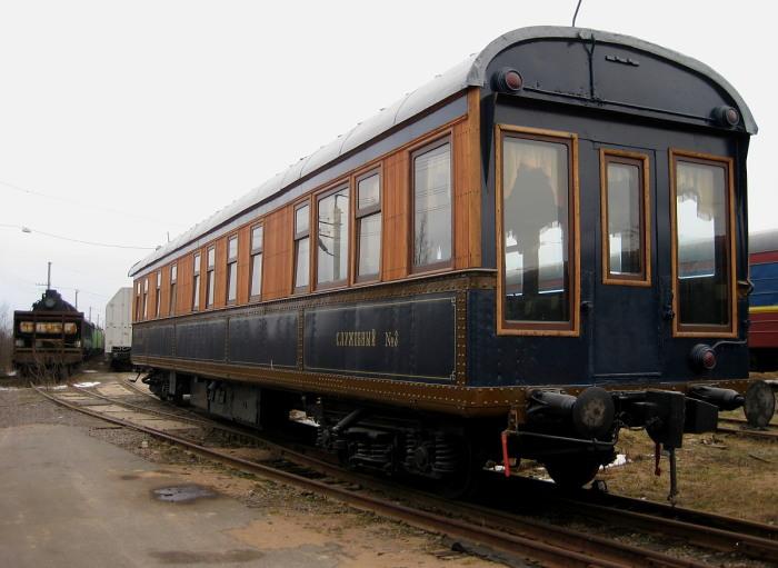 Во времена Царской России вагоны окрашивались в зависимости от класса / Фото: train-photo.ru