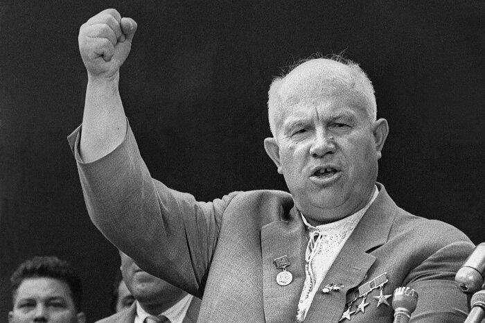 В результате политики Хрущева СССР снова оказался в непростой ситуации / Фото: shnyagi.net