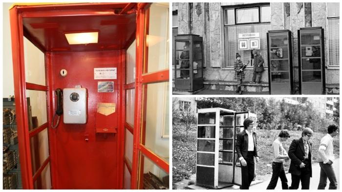 Телефонные будки в СССР / Фото: svyaz-museum.ru
