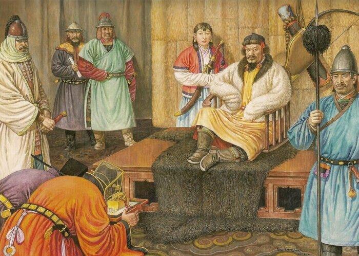 культурное направление формировалось под воздействием «инородцев», выходцев из других стран, и монголов-кочевников / Фото: giperboloid.info