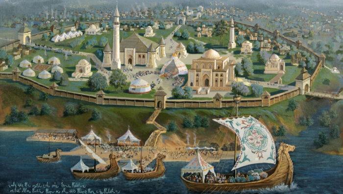 Были среди них и огромнейшие богатые населенные пункты, которые путешественников удивляли собственным великолепием / Фото: muslimdiary.ru