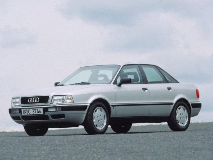 В Европе имя '90' было отменено, машины были под маркой Audi 80.