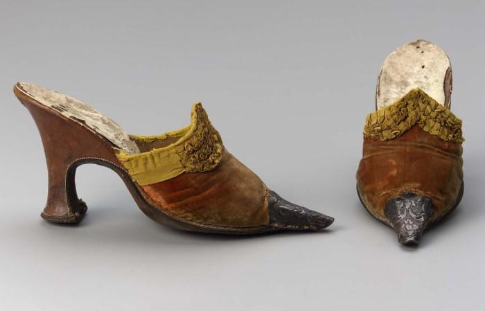 Мужская обувь французских аристократов / Фото: i.pinimg.com