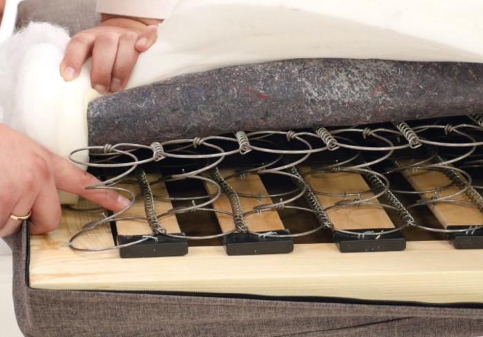 Из-за нагрузок пружины деформируются, начинают активно тереться, и возникает неприятный звук / Фото: matrasik.org.ua