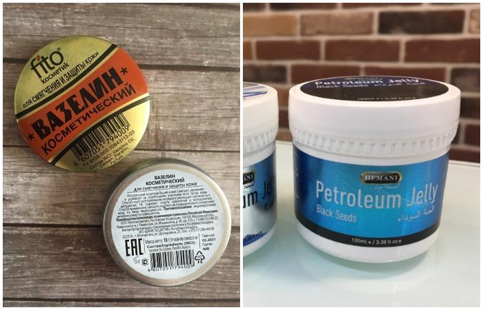 Petroleum jelly - ничто иное, как привычный нам вазелин