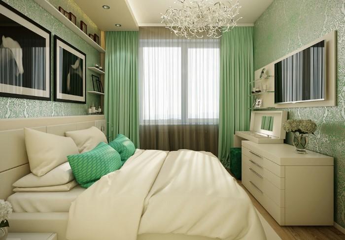 Однотонное постельное белье выглядит стильно и дорого по сравнению с узорчатыми изделиями / Фото: bucwar.ru