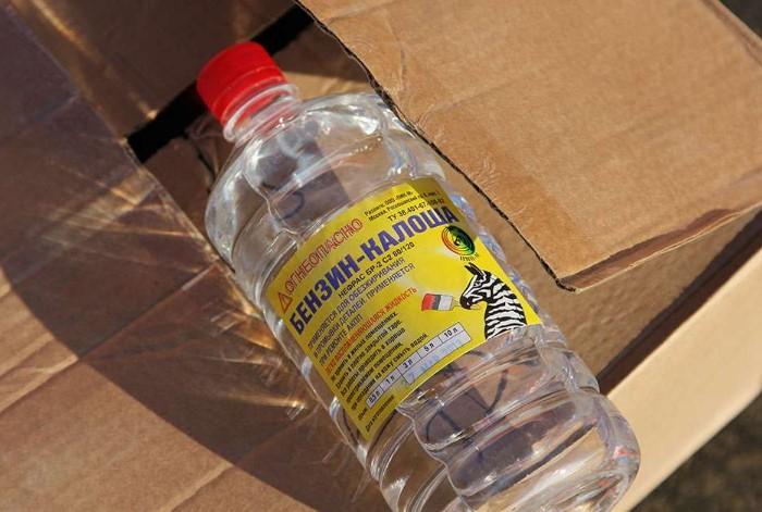 Используйте очищенный бензин только в крайних случаях / Фото: odezhda.guru