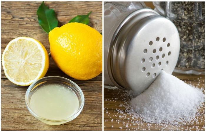 Соль можно использовать практически для всех материалов