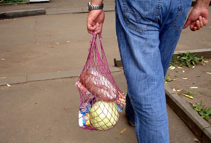 Советская сетчатая сумка - отличная альтернатива современным эко-шоперам