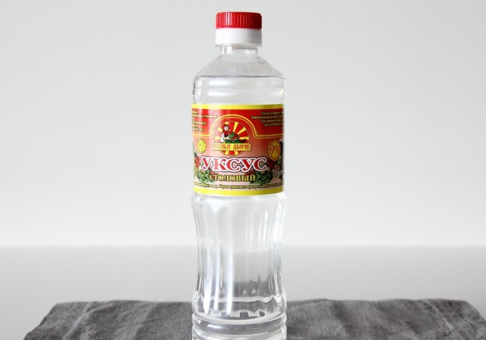 Уксусная кислота - натуральное дезинфицирующее средство / Фото: zelenj.ru