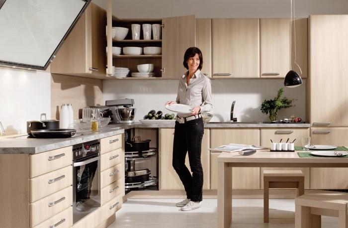 Современная кухня не ограничивается только тремя зонами, да и каждую из них можно оптимизировать
