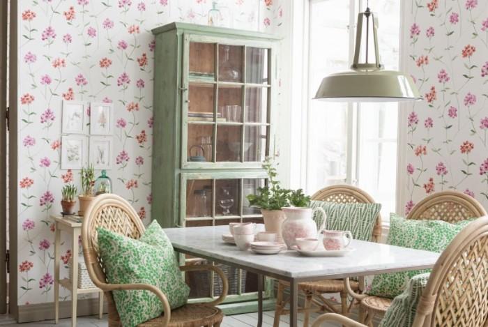 Сделайте в комнате одну акцентную стену, которая станет самодостаточным украшением интерьера / Фото: mykaleidoscope.ru